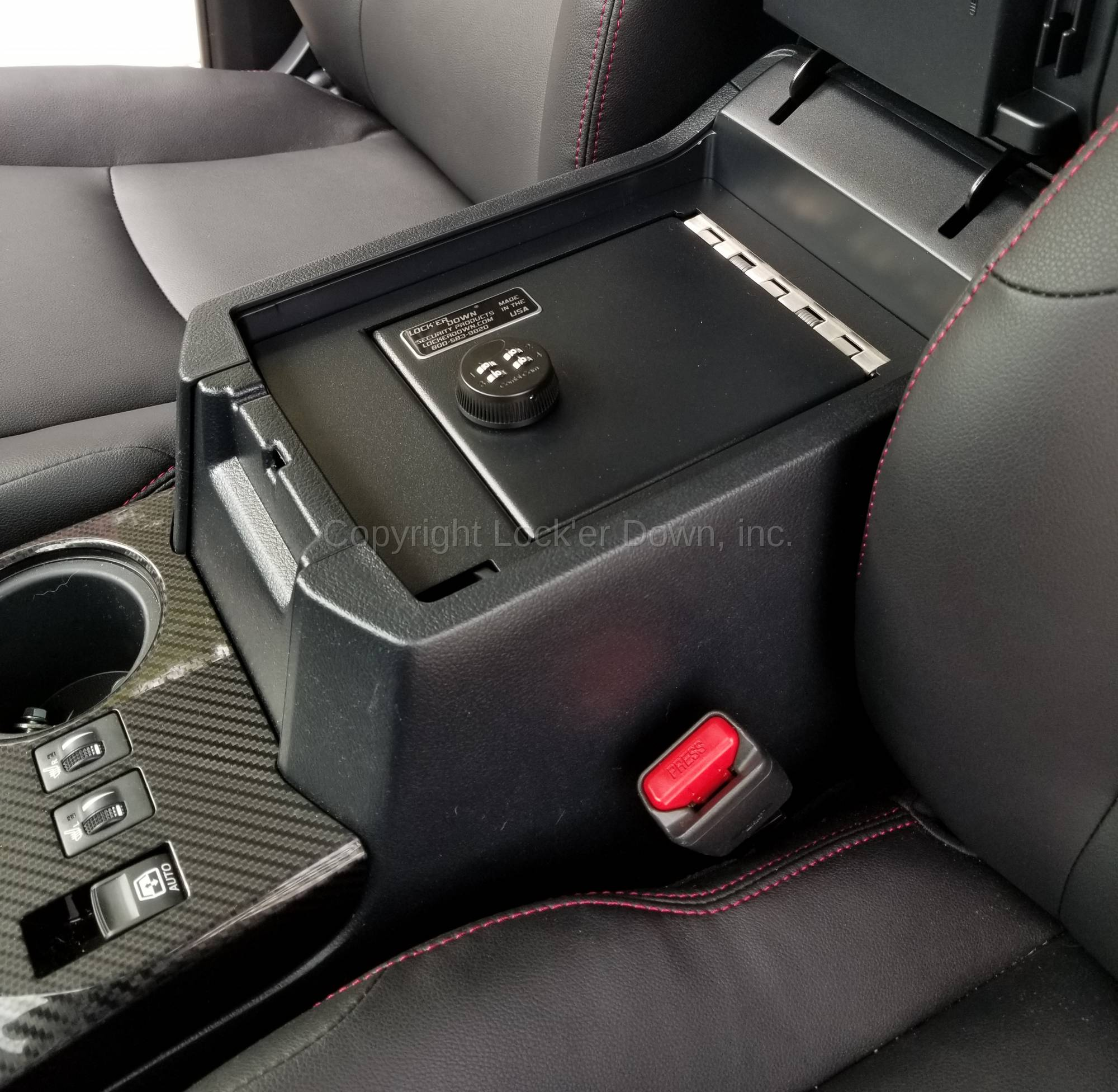 Console Safe 2010 18 Toyota 4runner