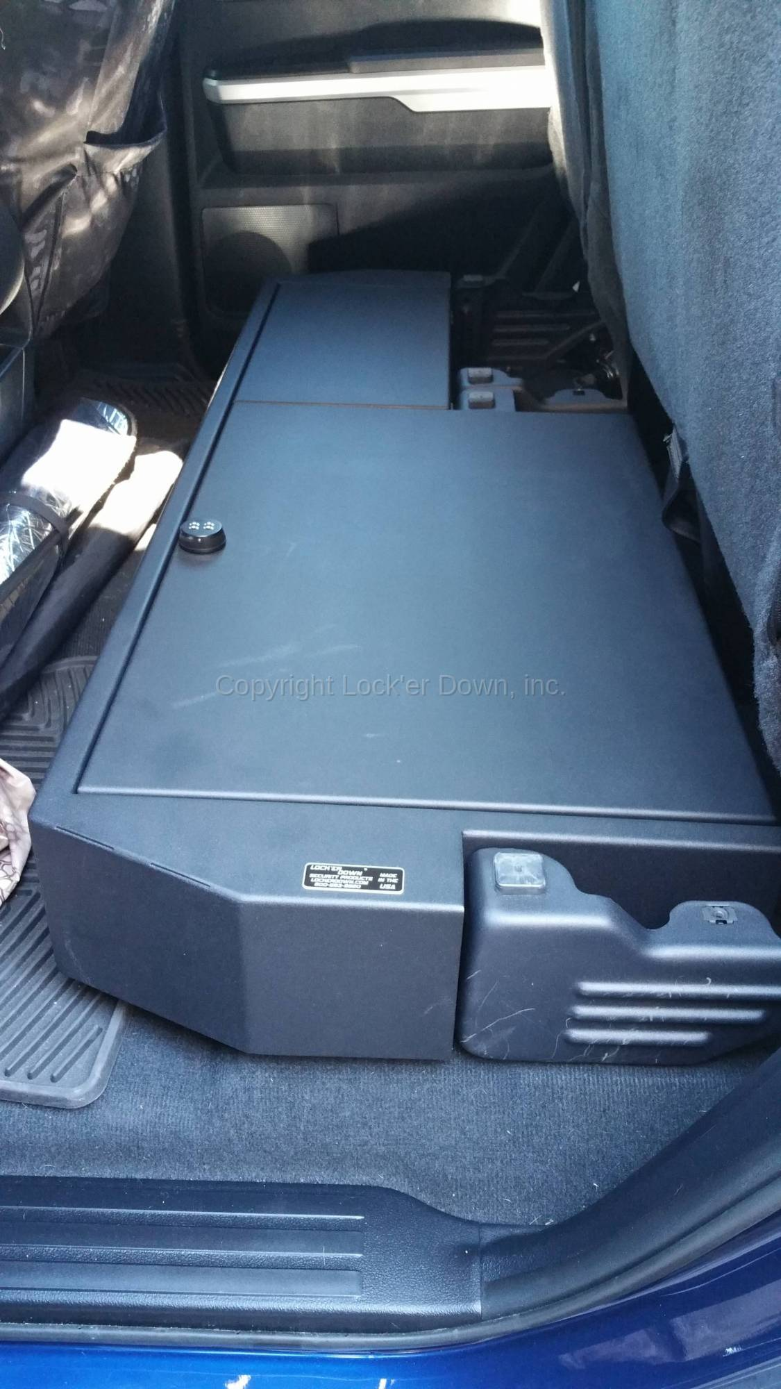 2018 Toyota Tundra Double Cab >> SUVault® LD3043 for 2007 - 2018 Toyota Tundra Double Cab Long Gun Safe
