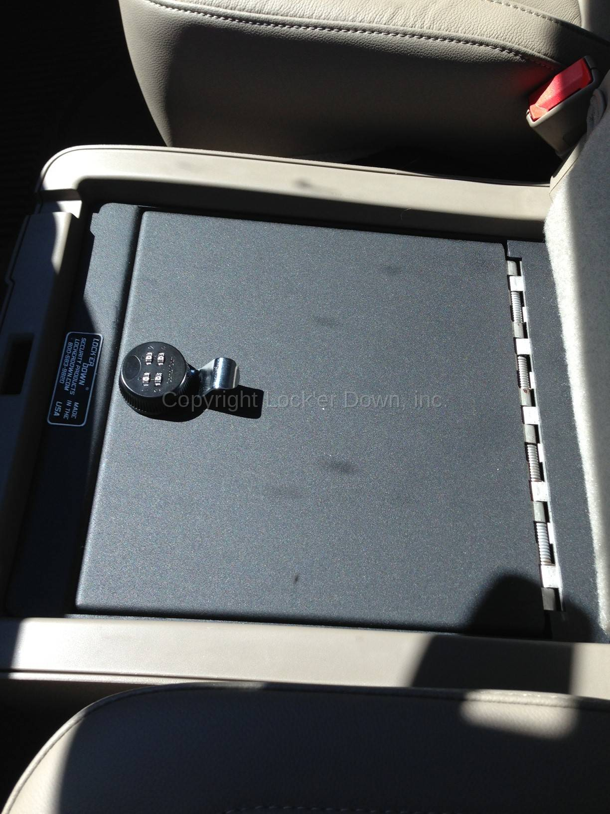 Console Safe 2014 up Chevrolet Silverado & GMC Sierra 1500 ...