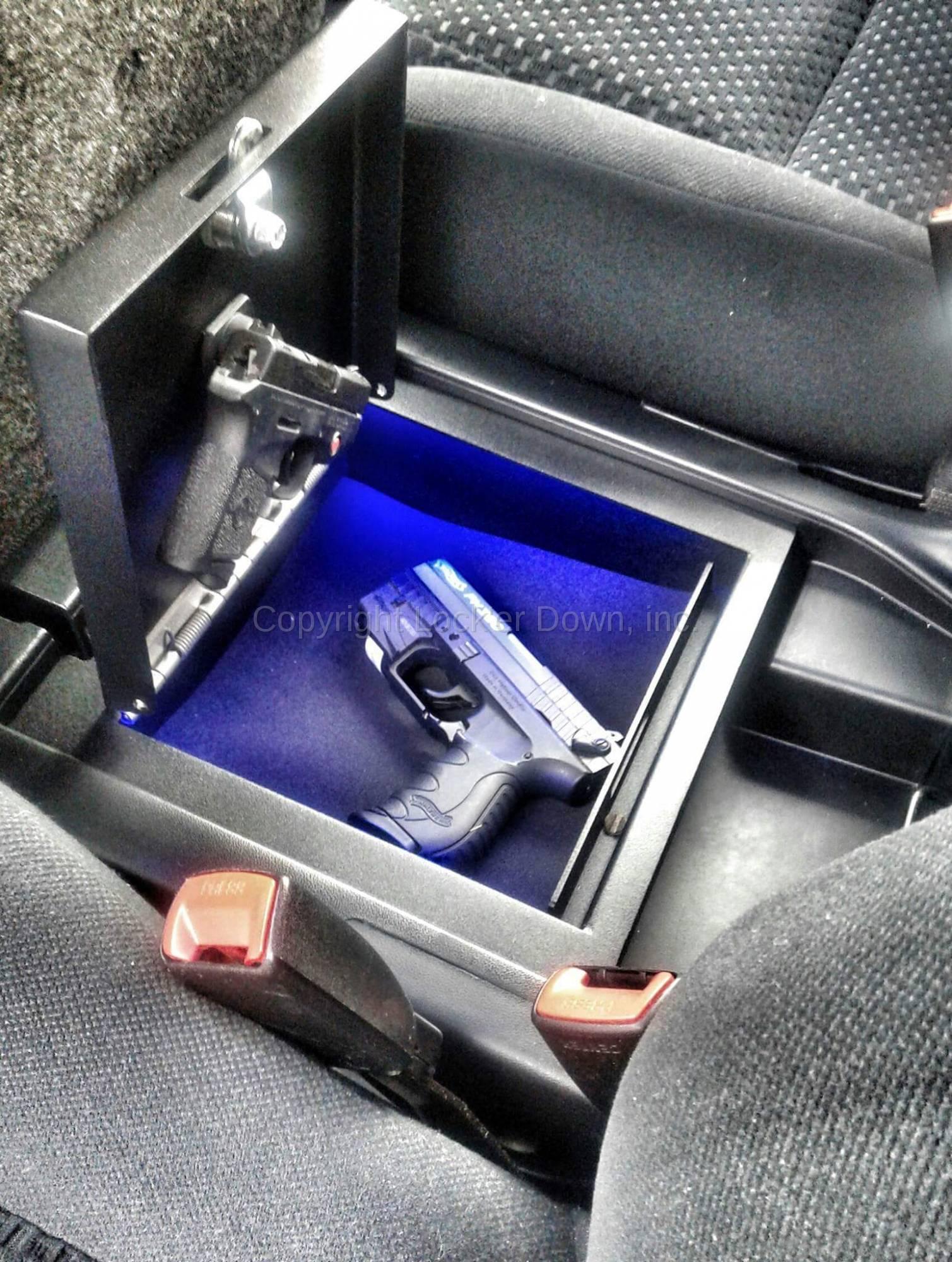 Console Safe 2007 To 2018 Toyota Tundra W Split Bench