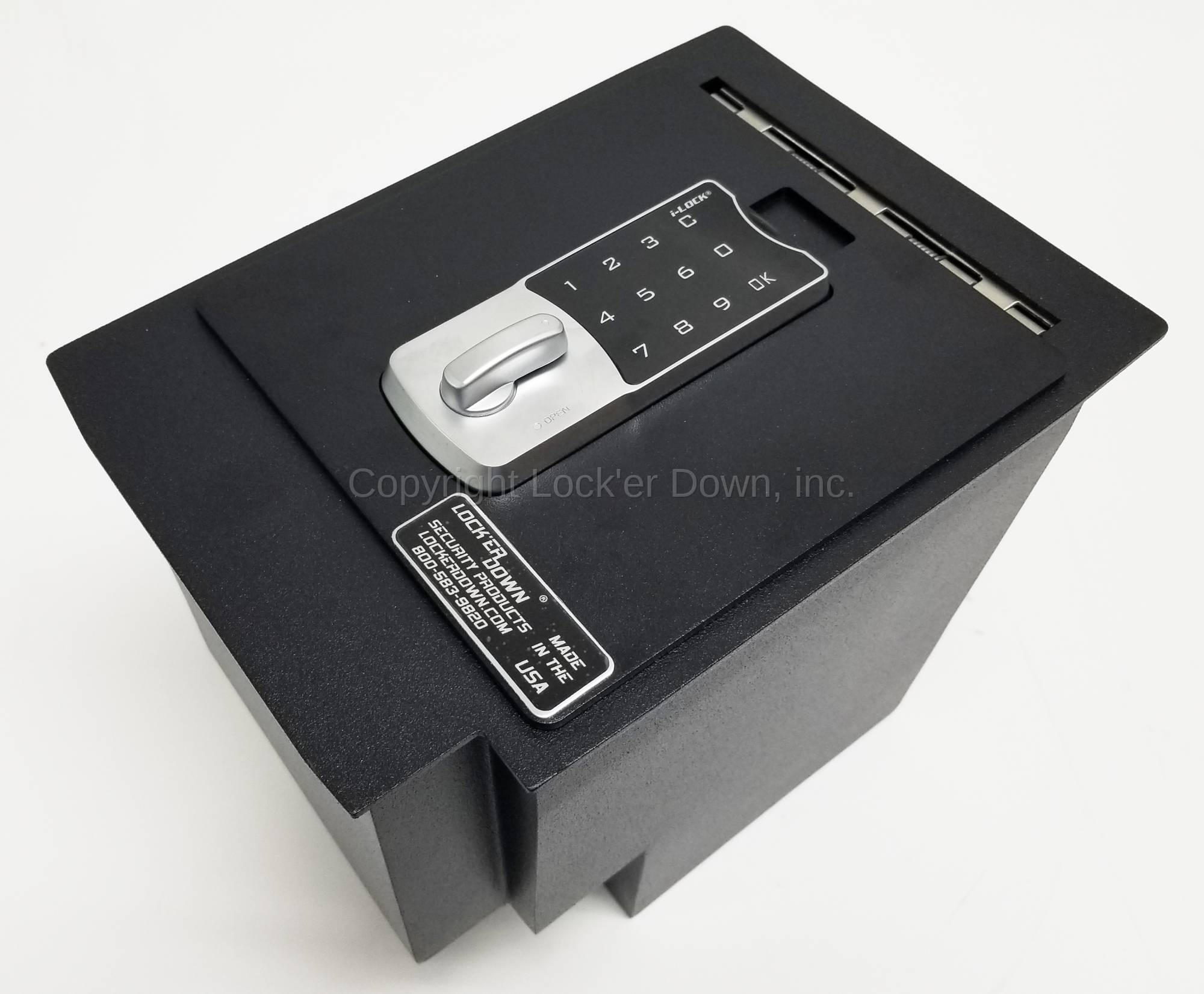 Exxtreme Console Safe 2010 19 Toyota 4runner