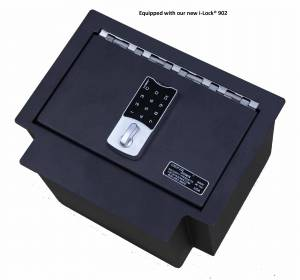 Lock'er Down® -  Console Safe 2017 to 2018 Chevrolet Silverado & GMC Sierra W/ eAssist Model LD2039  !! ONLY FITS THE SHALLOW CONSOLE !!