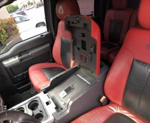 Lock'er Down® - EXxtreme Console Safe® 2011-2016 Ford Super Duty Model LD2034EX