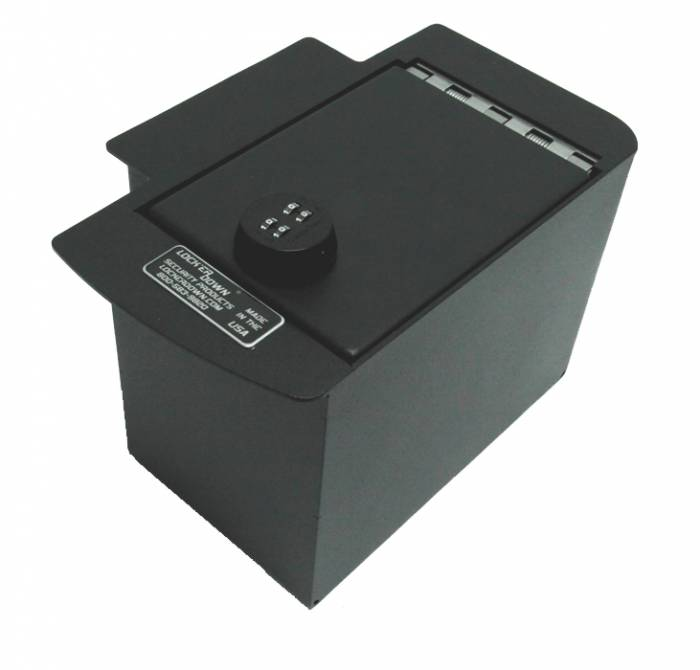 Lock'er Down® - Console Safe 2005 to 2015 Toyota Tacoma Model LD2012