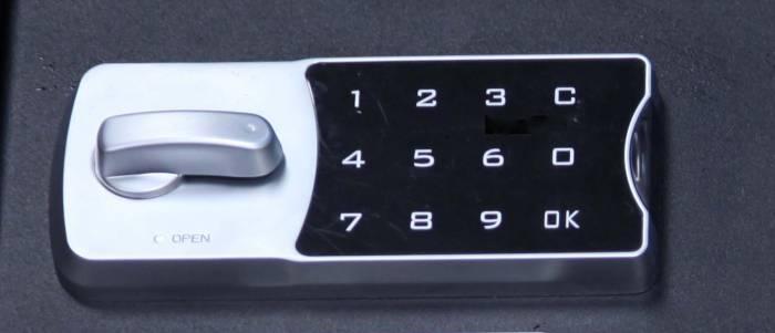 Lock'er Down® - Our Metal Cased Electronic Lock Horizonal