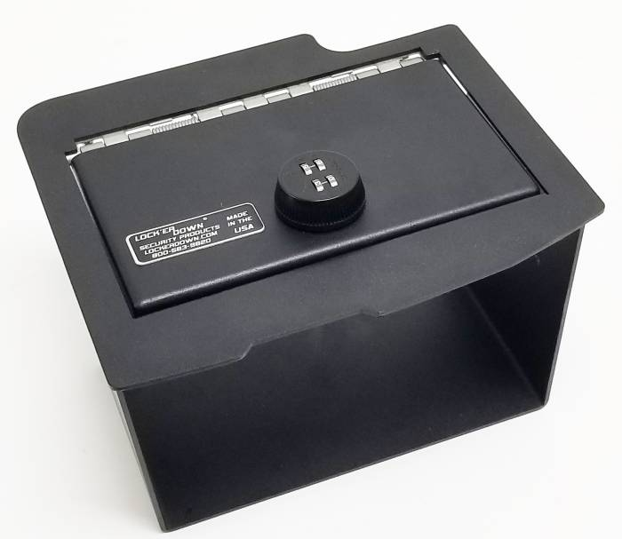 Lock'er Down® - Console Safe 2013 to 2018 Dodge Ram 1500, 2500 & 3500 with CD Model LD2028CD