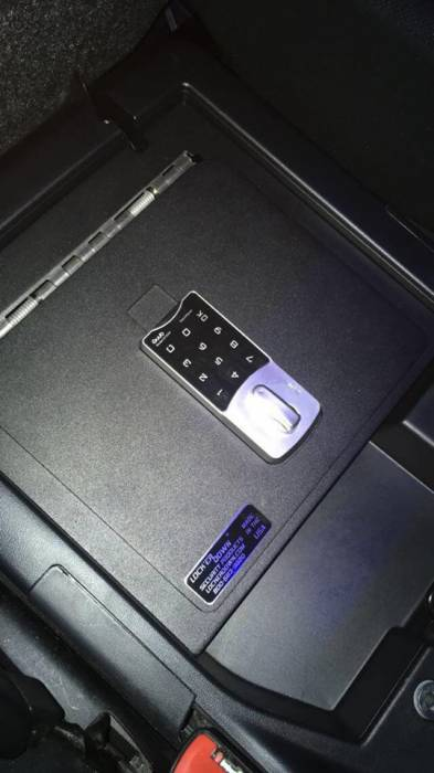 Lock'er Down® - EXxtreme Console Safe® 2007 to 2019 Toyota Tundra w/ Split Bench Seat LD2049EX