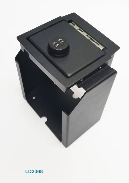 Lock'er Down Special - Console Safe 2011 to 2018 Jeep Wrangler JK WITH Coin Tray Removal Model LD2068