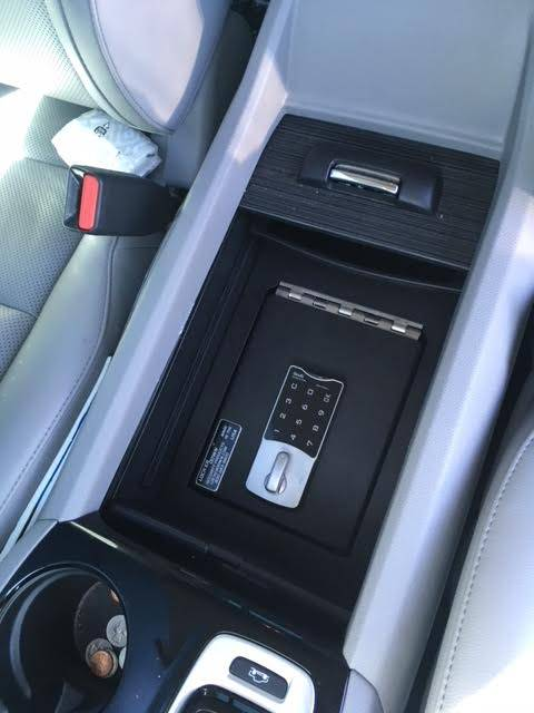 Lock'er Down® - EXxtreme Console Safe® 2016 to 2021  Honda Ridgeline, Passport & Pilot LD2030EX