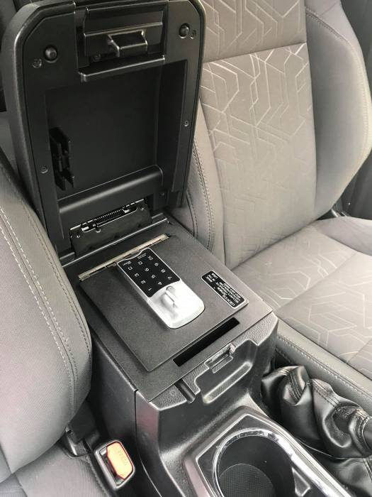 Lock'er Down® - EXxtreme Console safe 2016-2019 Toyota Tacoma LD2047EX