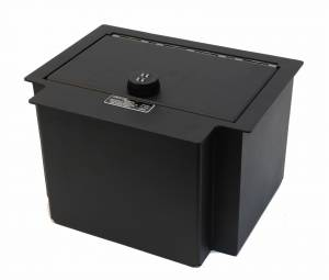 Lock'er Down® - Console Safe 2014 up Chevrolet Silverado & GMC Sierra 1500 Also  2015 - 2018 1500, 2500 & 3500 Series  Model LD2040