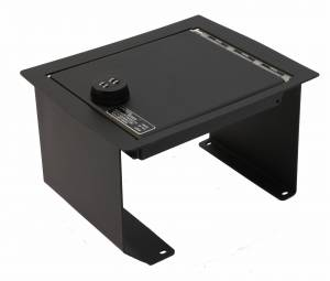 Shop by Vehicle - Lincoln - Lock'er Down® - Console Safe 2005 - 2008 Ford F150 & Lincoln LT with Full Floor Console Model LD2005