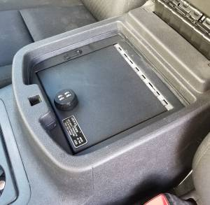 Lock'er Down® - Console Safe 2007 to 2014 Chevrolet Silverado, Suburban & Tahoe GMC Sierra, Yukon & Yukon XL LD2011X - Image 2