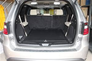 Secure Storage - Long Gun Storage - Lock'er Down® - SUVault® Model D3005 2013 - 2020 Dodge Durango w/o 3rd Seat **