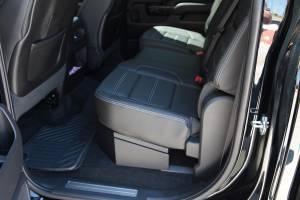 Secure Storage - Long Gun Storage - Lock'er Down® - SUVault® Model LD3011 2007 - 2018  Silverado / Sierra Crew Cab Under Seat Long Gun Safe