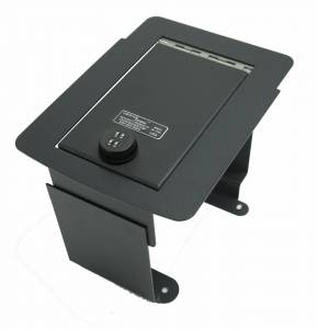 Shop by Vehicle - Ford - Lock'er Down® - Console Safe 2000-2007 Ford Super Duty, 2000 -2005 Excursion Model LD2017