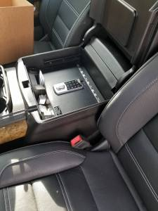 Lock'er Down® - EXxteme Console Safe® 2015 - 2020 Chevrolet Suburban, Tahoe & GMC Yukon  Model LD2042EX - Image 2