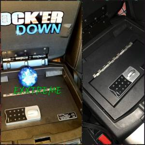 Dodge - Ram - Lock'er Down® - EXxtreme Console Safe® 2009 to 2018 Dodge Ram 1500, 2500 & 3500 Model LD2028EX