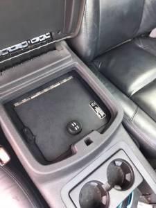 Lock'er Down® - EXxtreme Console Safe® 2007 to 2014 Chevrolet Silverado, Suburban & Tahoe GMC Sierra, Yukon & Yukon XL LD2011XEX