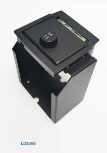 Secure Storage - Console Safe - Lock'er Down Special - Console Safe 2011 to 2018 Jeep Wrangler JK Model LD2068
