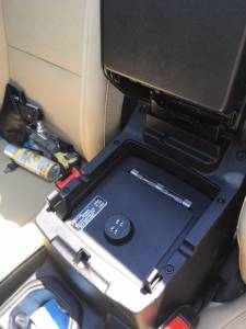 Shop by Vehicle - Jeep - Lock'er Down Special - EXxtreme Console Safe® 2018 Jeep Wrangler JL Model LD2070