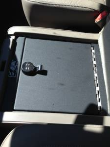 Lock'er Down® - EXxtreme Under Seat Console Safe 2014 -2018 Chevrolet Silverado & GMC Sierra 1500 Also  2015 - 2019  2500 & 3500 Series  Model LD2041EX - Image 3