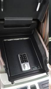 Ford - Super Duty - Lock'er Down® - Console Safe 2015 - 2020 Ford F150 , 2017 - 2020 Ford Super Duty and 2018-2020 Ford Expedition with Full Floor Console Model LD2045