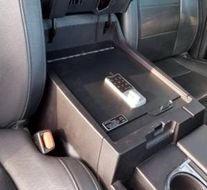Secure Storage - Our EXxtreme Console Safes® - Lock'er Down® - EXxtreme Console Safe® 2014 to 2021 Toyota Tundra LD2043EX