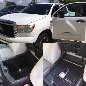 Lock'er Down® - Console Safe 2007 - 2013 Toyota Tundra 2008-20 Sequoia LD2013 - Image 2