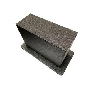 Bottom Shape of Floor Safe (COMPARE TO THE SHAPE OF YOUR FLOOR COMPARTMENT!)